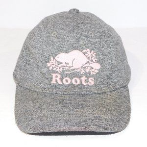 Roots Toddler 12-24 Months Salt Pepper Pink Hat